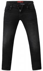 D555 Benson Tapered Fit Stretch Jeans Stonewash