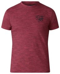 D555 Chalmer Couture Space Dye T-shirt Red