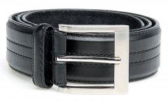Black Stitch Belt