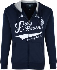 Kam Jeans Long beach Hoody Navy