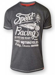 D555 CORTEZ Speed Racing T-Shirt Black
