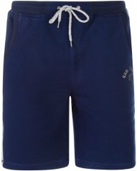 Kam Jeans Sweat Jog Shorts Navy