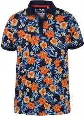 D555 Cyprus Hawaii Polo Shirt