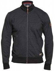 D555 Buxton Full Zip Sweatshirt Black