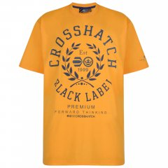 Crosshatch Laygos T-shirt Yellow