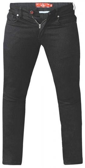 D555 Claude Stretch Jeans Black