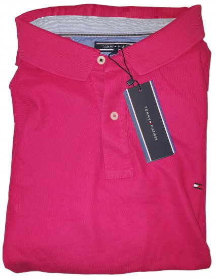 Tommy Hilfiger Classic Polo Dark Pink - Outlet -