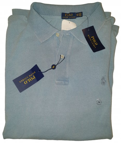 Polo Ralph Lauren Classic Polo Blue - Outlet -
