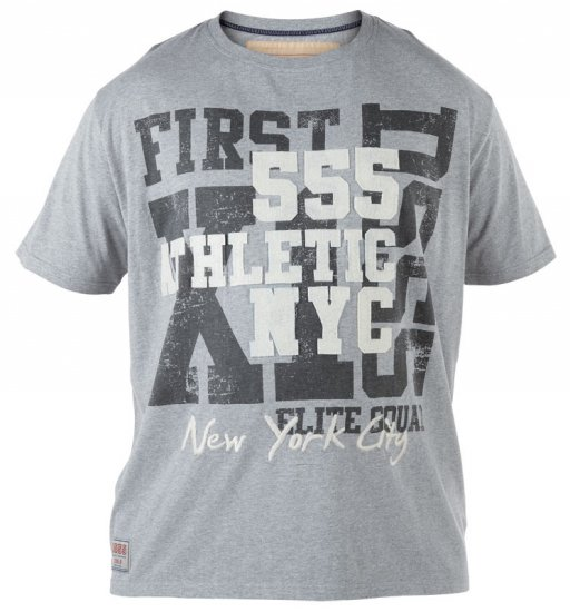 D555 NYC Athletic T-shirt - T-shirts - Stora T-shirts - 2XL-8XL