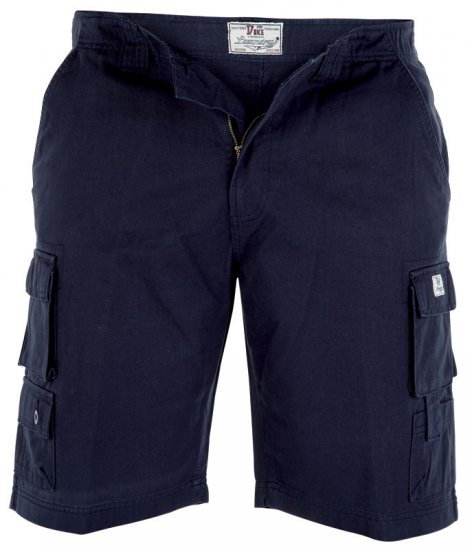 Duke Best Shorts Navy - Shorts - Stora shorts W40-W60