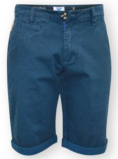 D555 Bruce Chino Short Blue - Shorts - Stora shorts W40-W60