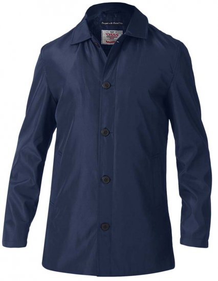 D555 Hampton Raincoat Navy - Jackor - Stora jackor - 2XL-8XL
