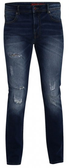 D555 Asher 1959 Stretch Jeans with rips - Jeans & Byxor - Stora Jeans och Stora Byxor
