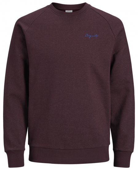 Jack & Jones Hide Sweatshirt Port Royal - Tröjor & Hoodies - Stora hoodies - 2XL-8XL