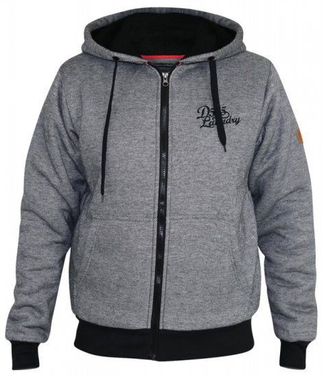 D555 William Sherpa Lined Hoodie - Tröjor & Hoodies - Stora hoodies - 2XL-8XL