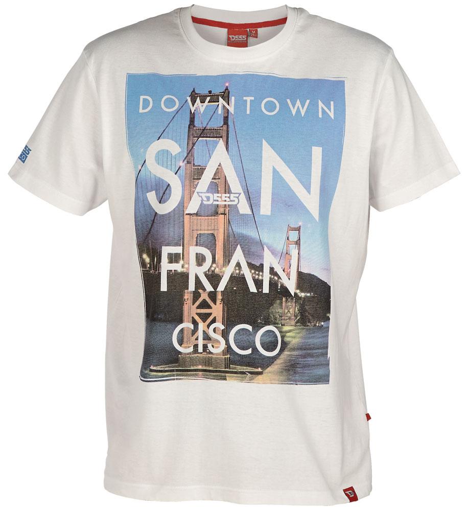 D555 Downtown T-shirt i stora storlekar - MotleyDenim.se 8c2d645554d47