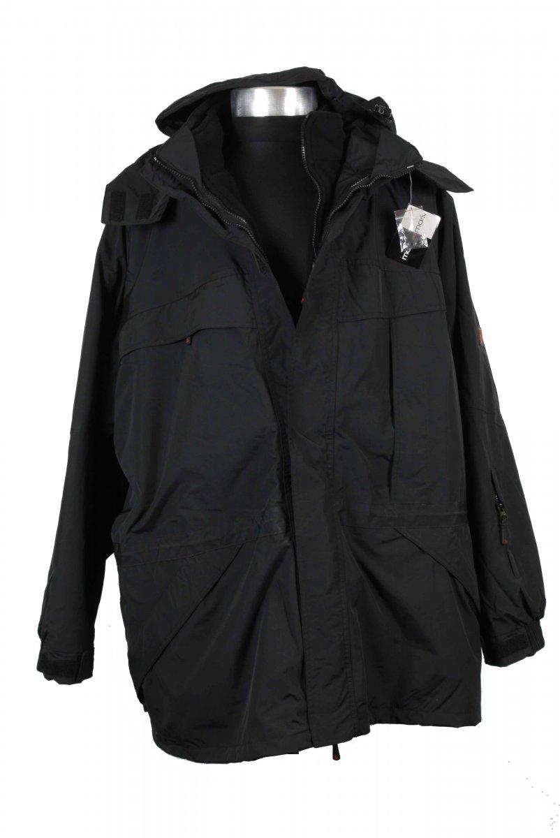 9fa36dfe3672 Marc & Mark 2-layer Skidjacka Svart - Arbetskläder, Regn- och skidkläder -