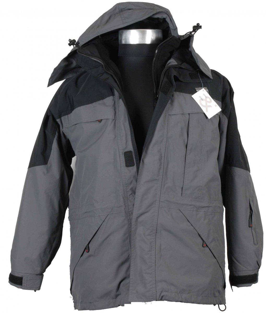 b19a26c55118 Marc & Mark 2-layer Skidjacka Grå - Arbetskläder, Regn- och skidkläder -