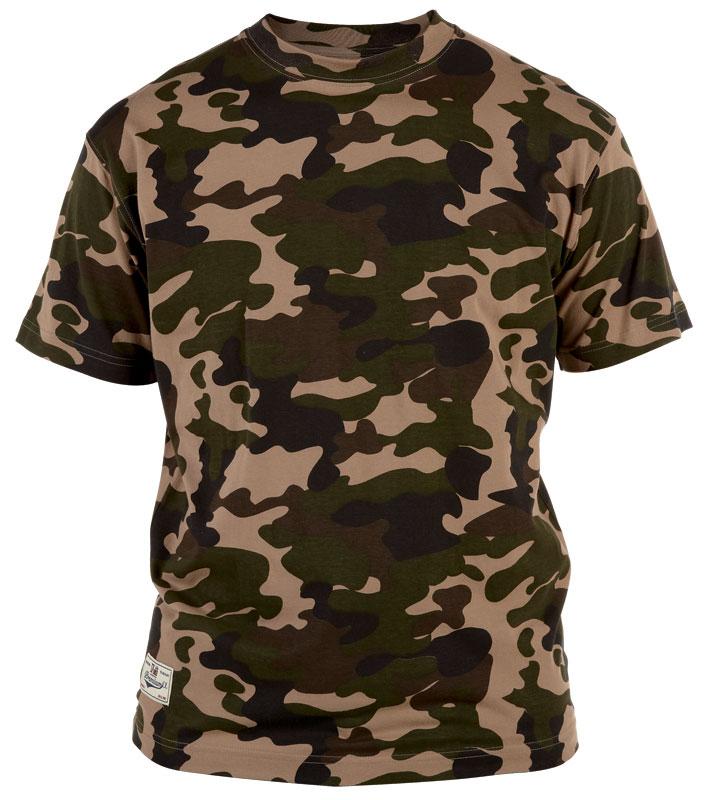 Duke Camo T-shirt Jungle i stora storlekar - MotleyDenim.se 275ac87c64151