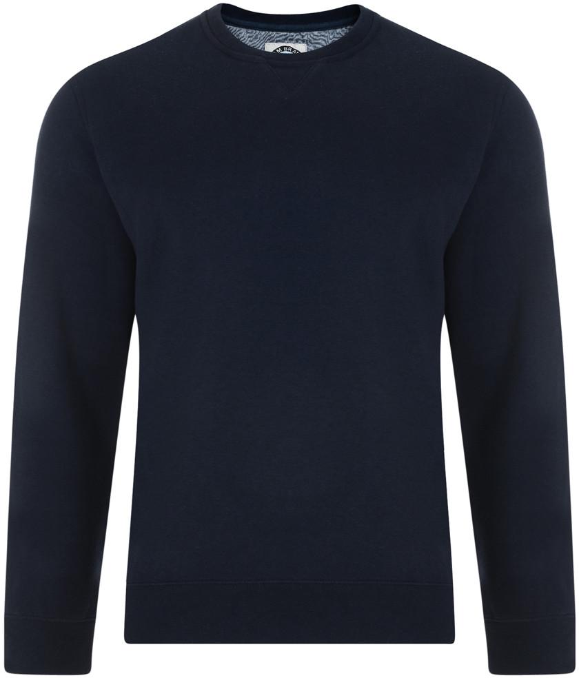 Kam Jeans Tröja Mörkblå i stora storlekar MotleyDenim.se